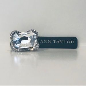 Ann Taylor Jewelry - Ann Taylor Crystal Rectangular Statement Ring 💍